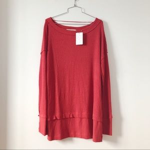 Free People Sweaters - NWT - Free People We the free  thermal oversized